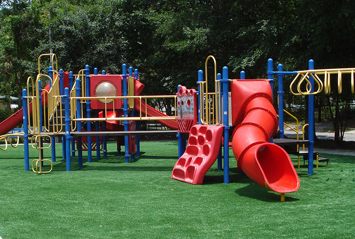 Commercial Playgrounds Grass