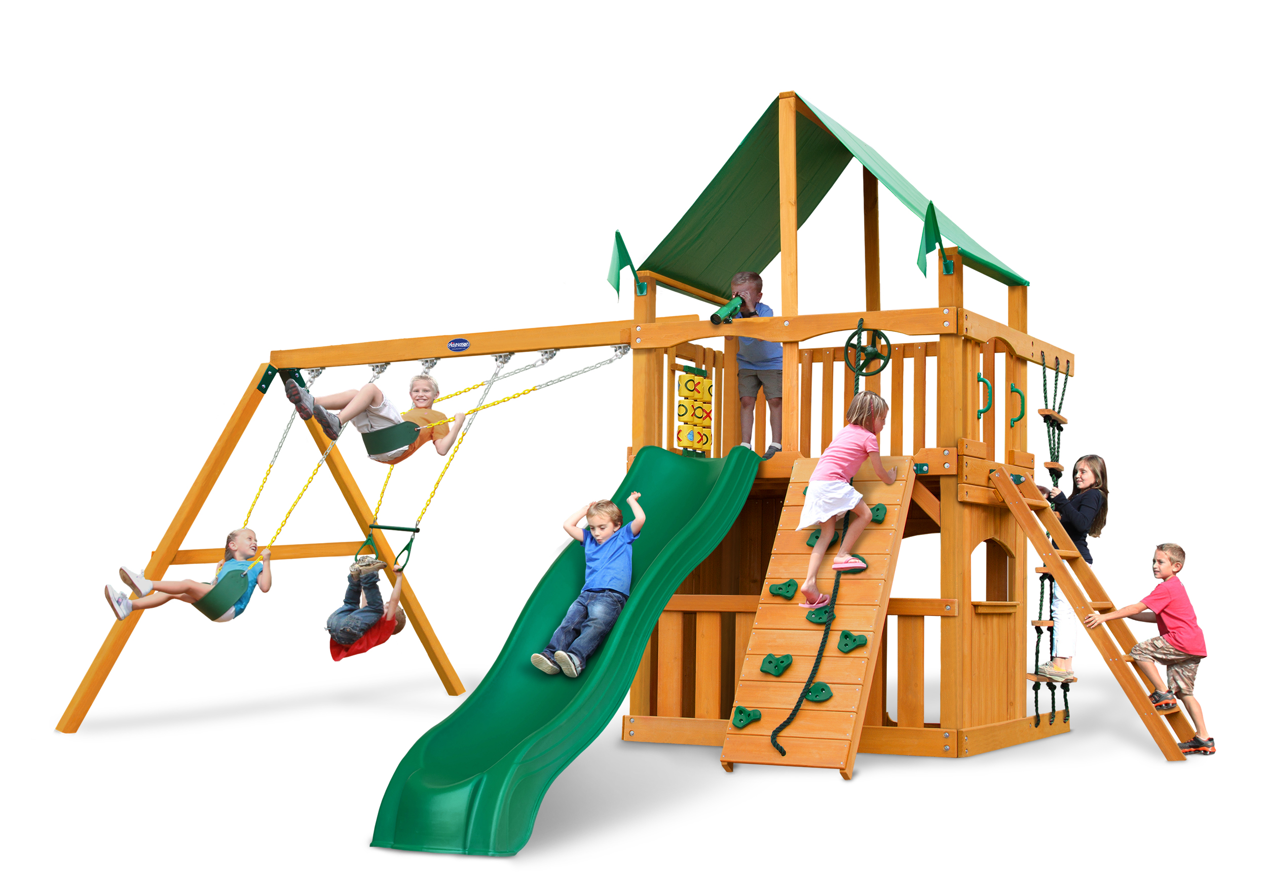 Horizon Clubhouse Swing Set Usa Play