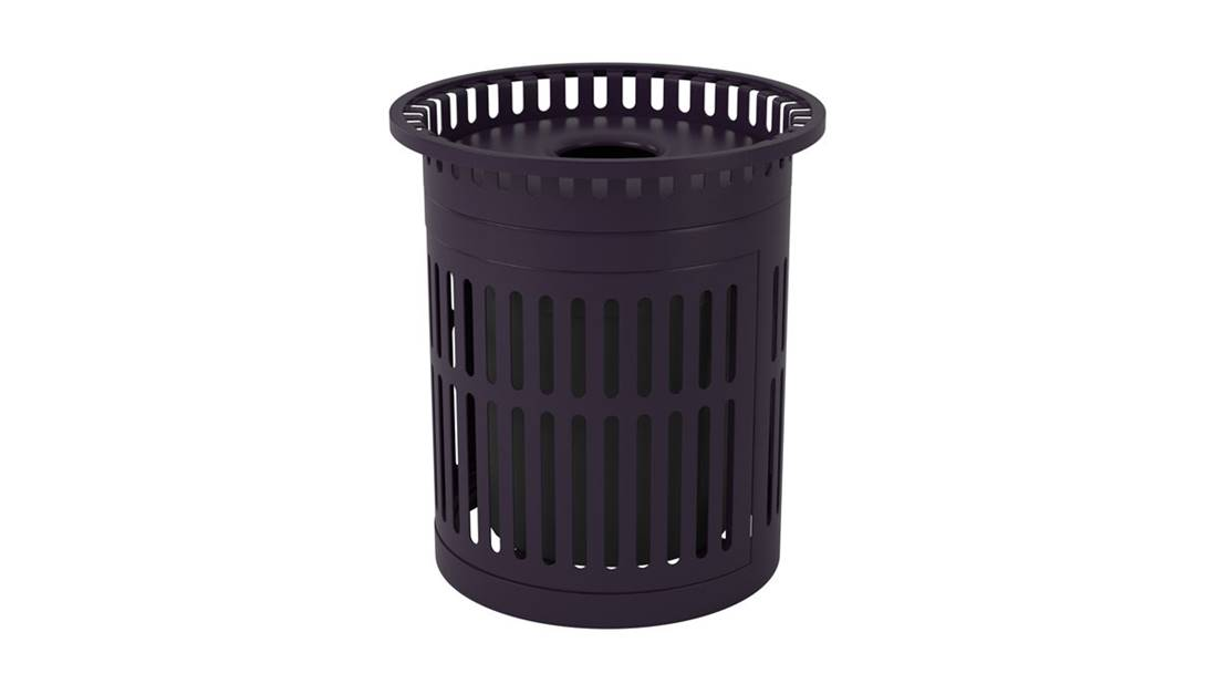 Trash Can Black