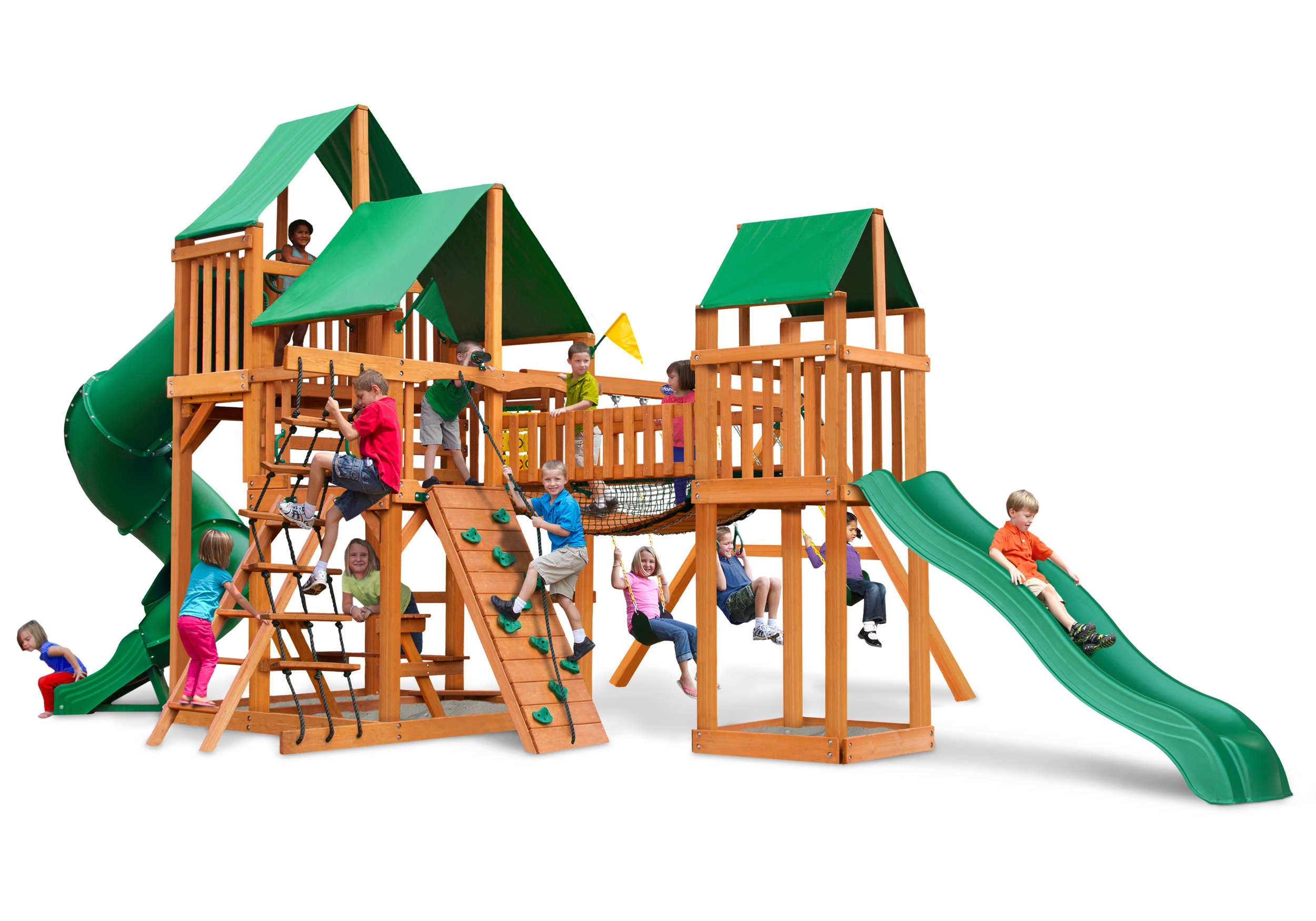 The Reserve Swing Set Usa Play