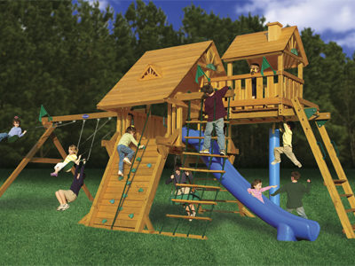 Colossal Kingdom Deluxe Swing Set