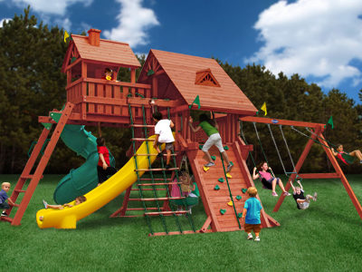 Colossal Kingdom Elite Swing Set