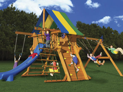 Colossal Kingdom Swing Set