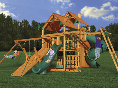Hunter's Hideaway Swing Set