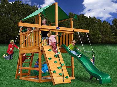 Royal Palace Super Saver Swing Set