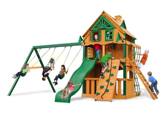 Horizon Clubhouse Swing Set Usa Play