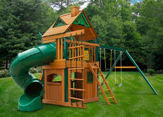 Horizon Clubhouse With Tube Slide Usa Play