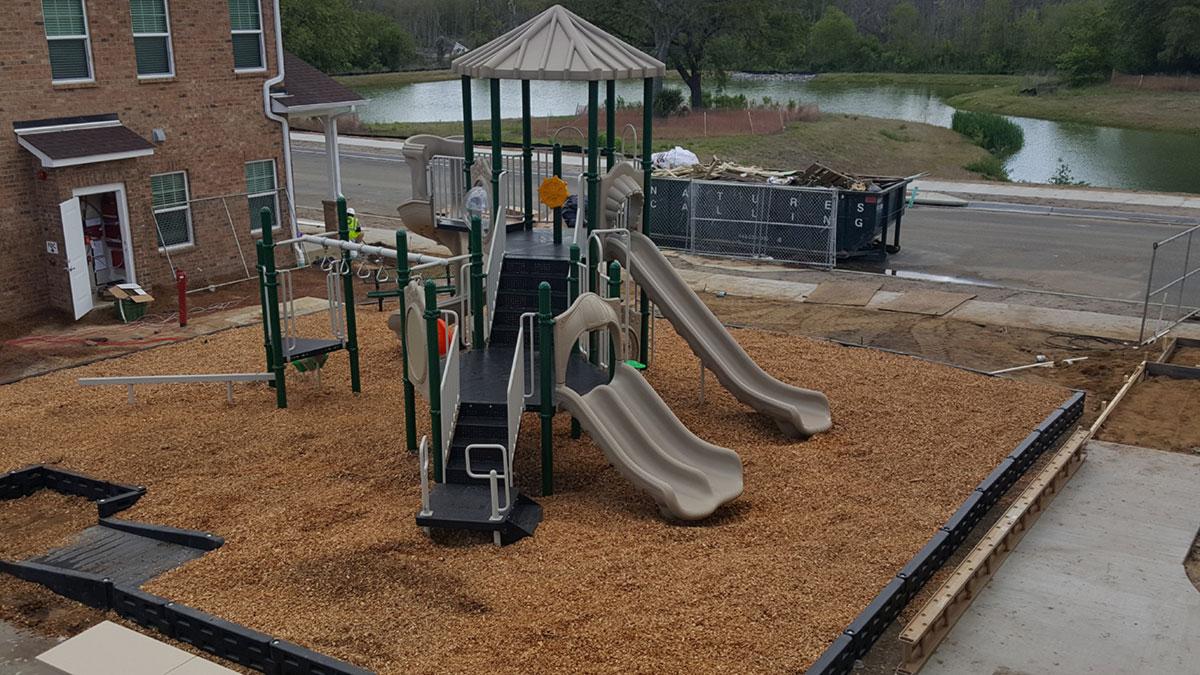 Georgia Apartment Complex Playground